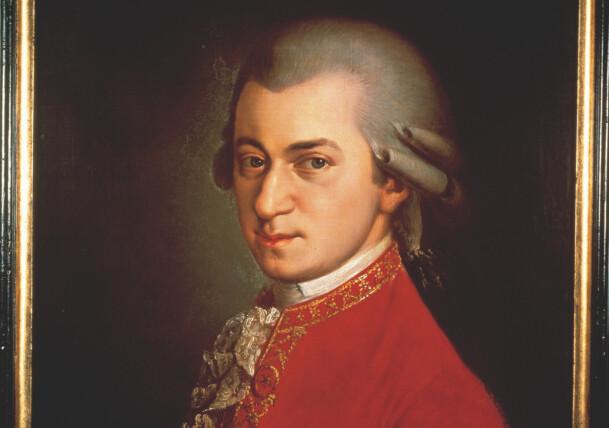 W.A. Mozart Painting / B. Kraft