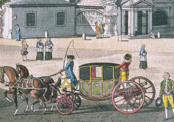 Coach around 1790
