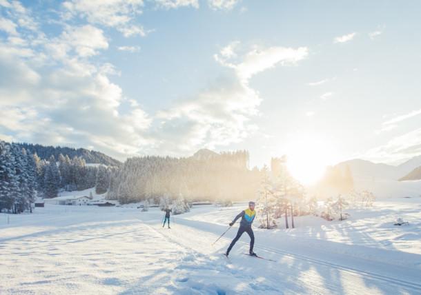Tiroler Zugspitz Arena - cross-country skiing
