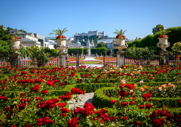 garden of Mirabell palace