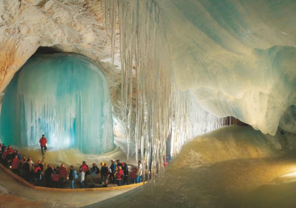 Eisriesenwelt bei Werfen, Salzburg