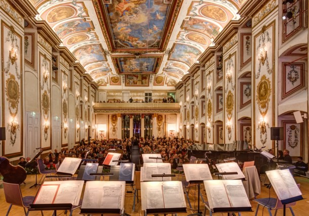 Gala de Noël dans la salle Haydn du Palais Esterházy