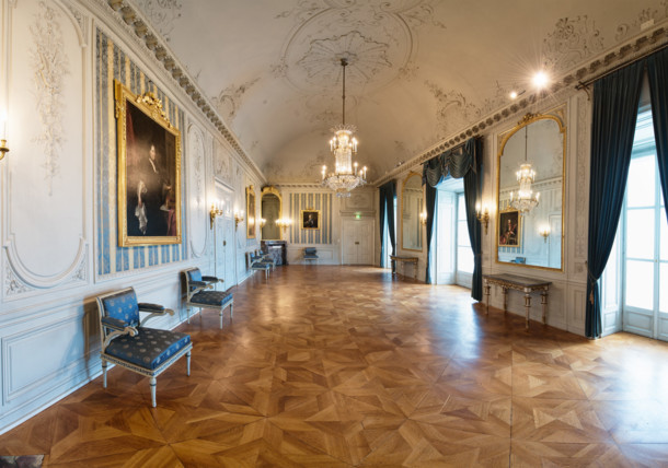 Hall of mirrors Esterhazy Palace
