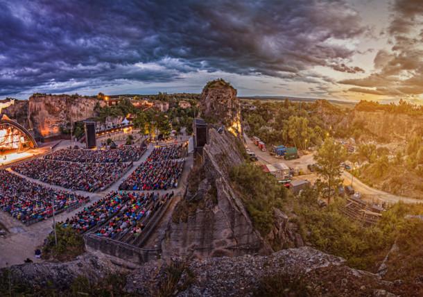 Oper im Steinbruch: Tosca