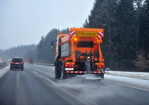Motorways during Winter