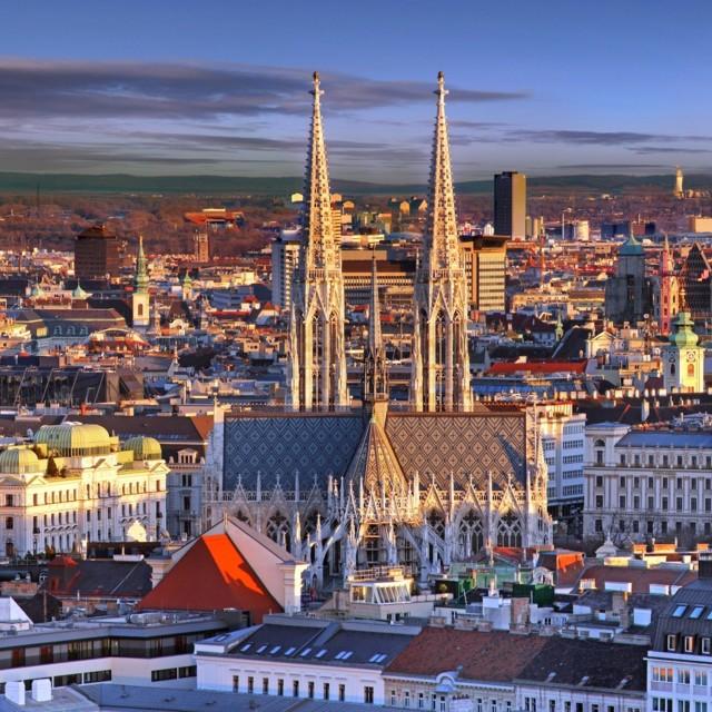 Wien. Blick über die Stadt