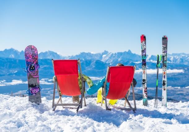 Sonnen genießen auf der Gerlitzen Alpe