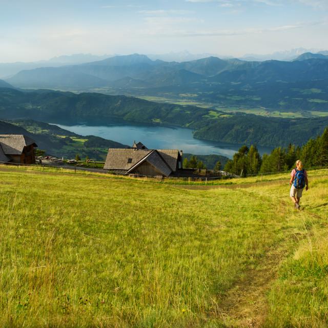 Die Millstätter Alpe mit Ausblick auf den See