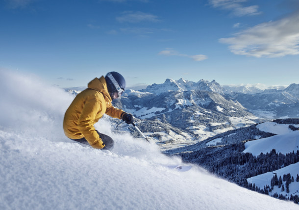 Deep-snow skiing in St. Johann in Tirol