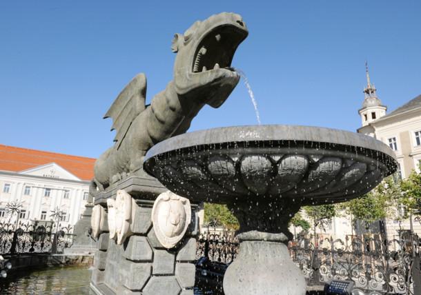 Le dragon Lindwurm