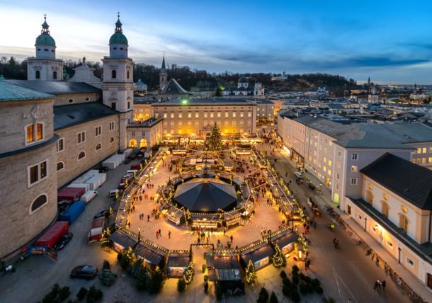 Salzburger Christkindlmarkt, Residenzplatz
