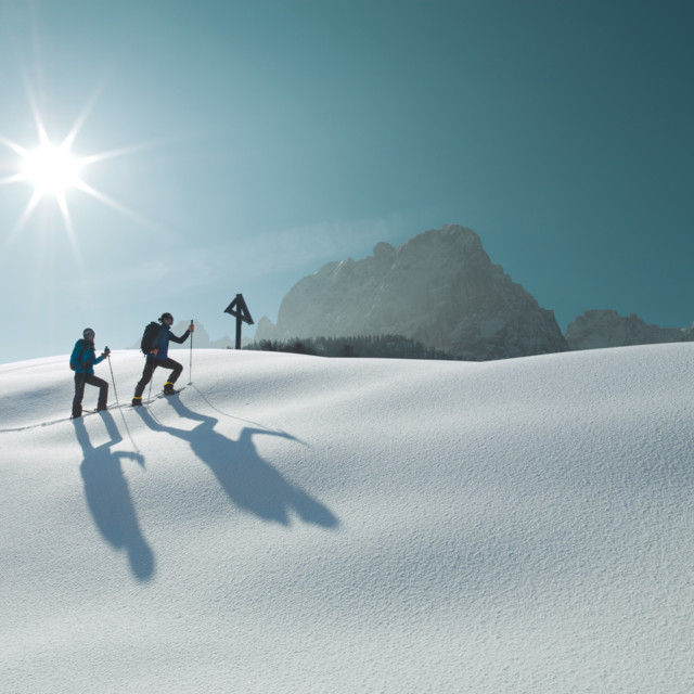 Snow hiking/South of Lienz/East Tyrol