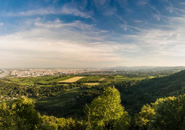 View from Leopoldsberg, Vienna