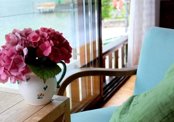 """Blick aus dem Appartement """"Hideaway"""" zum Altausseer See"""