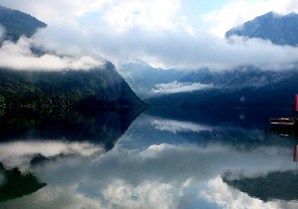 Jezero Altausseer u Štajerskoj