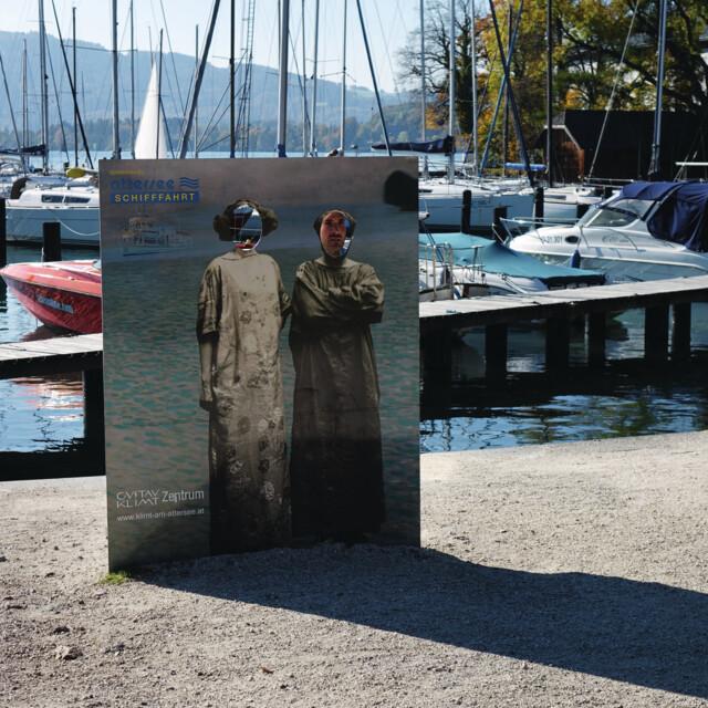 Gustav Klimt Themenweg am Attersee