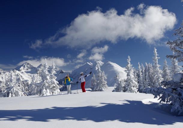 Šetnje sa snježnim krpljama, Dachstein