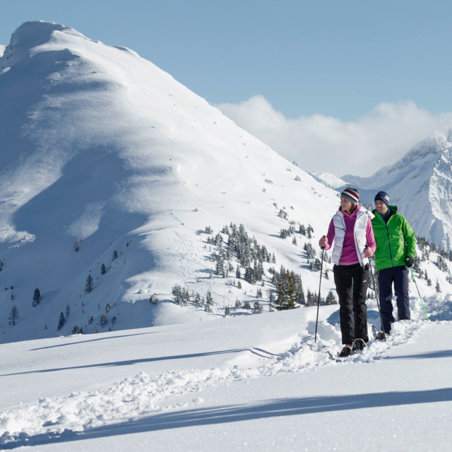 Schneeschuhwandern, Schladming