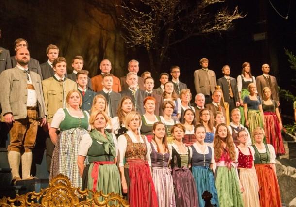 Choir at the Advent Concert Salzburg