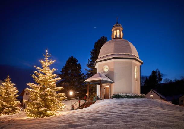 Silent night chapel in Oberndorf