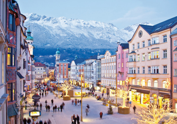 advent in Innsbruck's old town