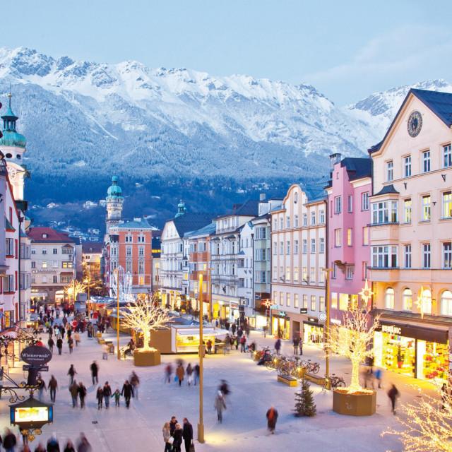 Innsbrucker Altstadt im Advent