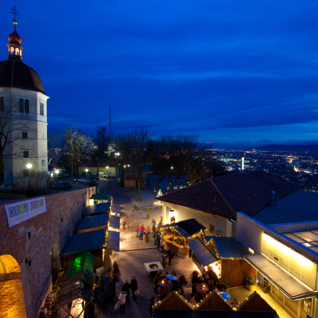 """""""Aufsteirern""""- Weihnachtsmarkt am Schlossberg"""