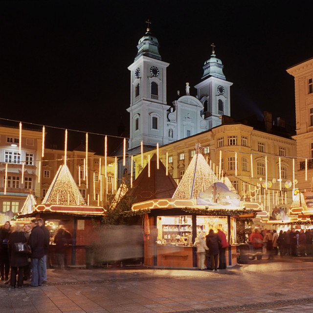 Christkindlmarkt in Linz