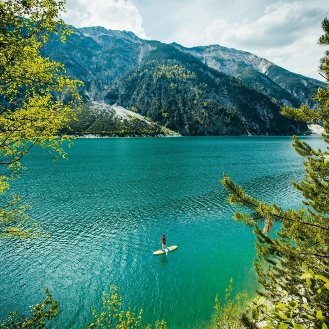 SUP-Tour am Achensee