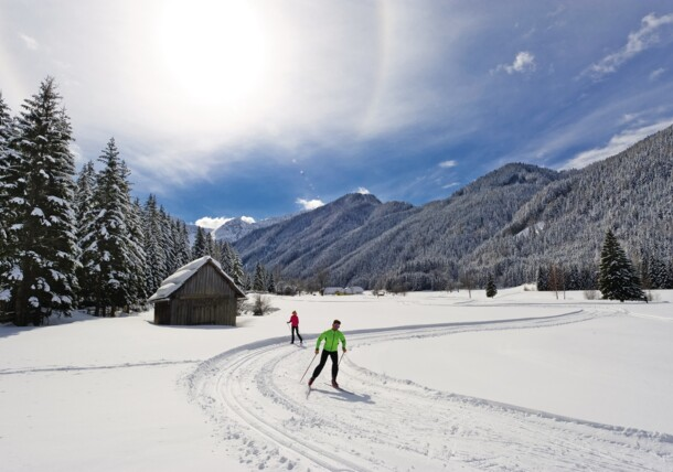 Cross-country skiing Bodental