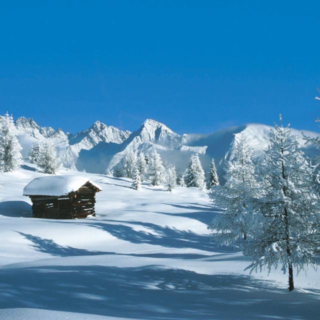 Winterlandschaft im Lesachtal, Kärnten