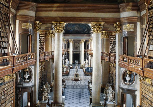 Prunksaal der Österreichischen Nationalbibliothek, Hofburg Wien