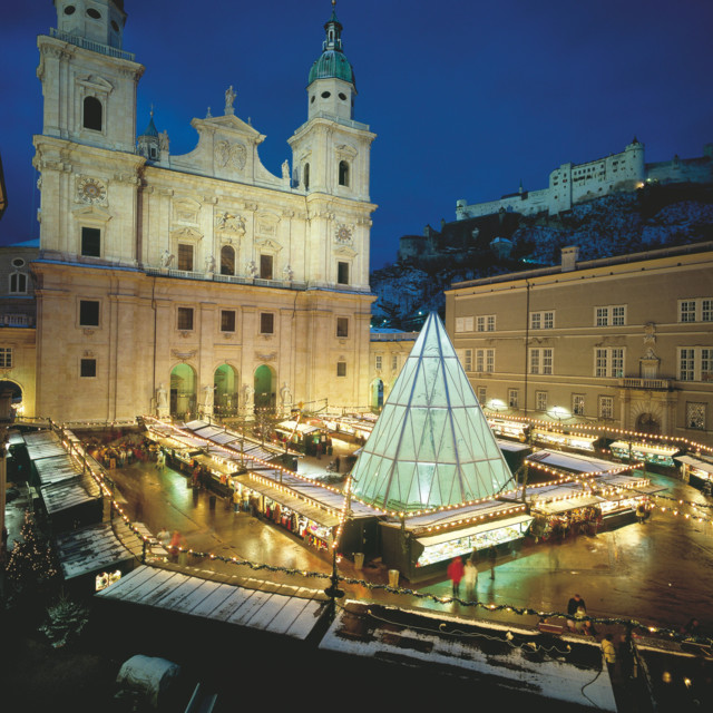 Adventmarkt in Salzburg