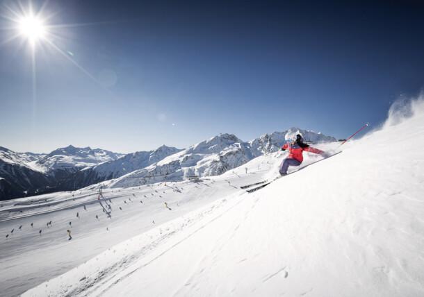 Skiing in Sölden