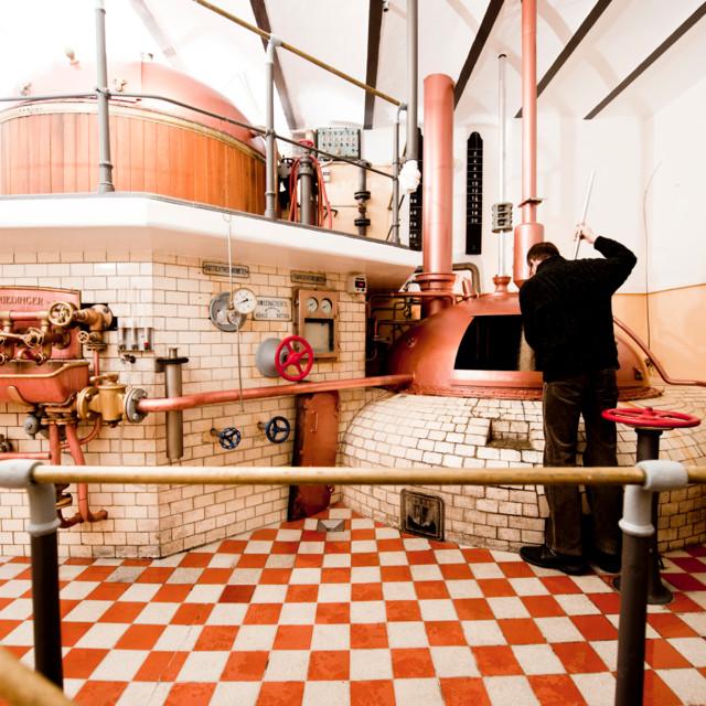 Brauerei Hofstetten historisches Sudhaus
