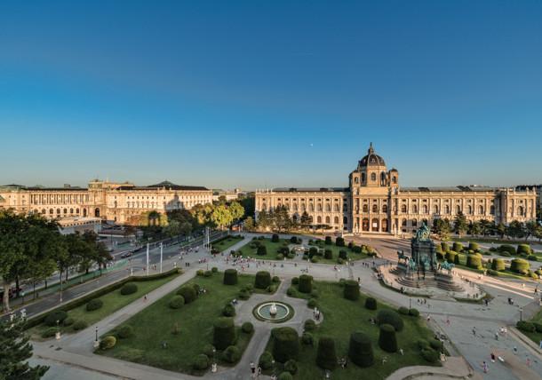Kunsthistorisches Museum Vienna - Exterior view