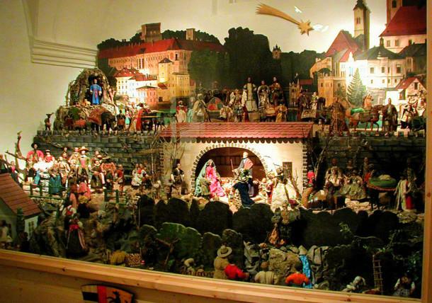 Lamberg'sche Nativity Scene in the Citys museum in Steyr