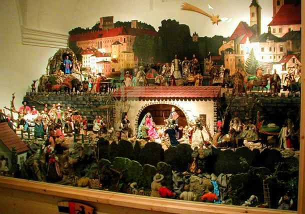 Lamberg'sche Nativity Scene in the Citys museum in Steyr