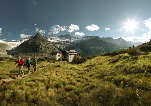 vandra i Tyrolen