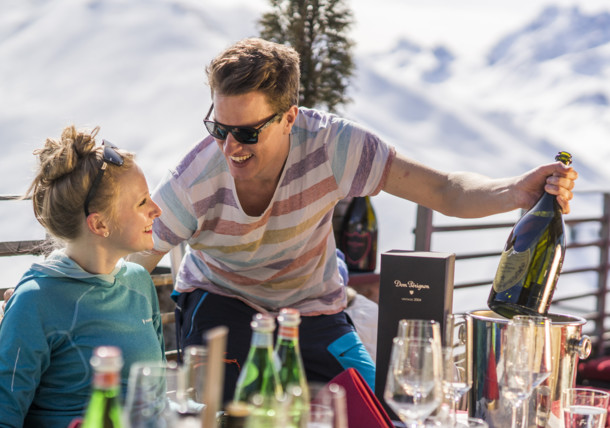 Culinary delights in a traditional mountain restaurant in Ischgl