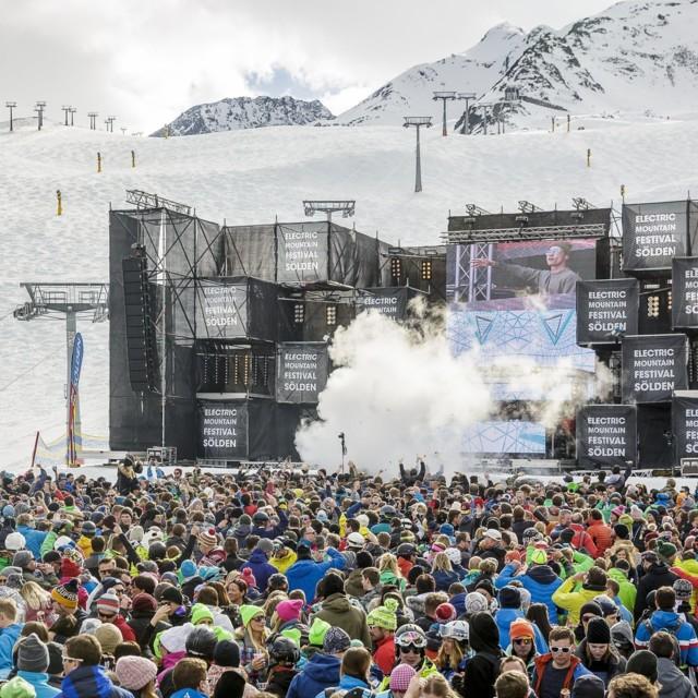 Electric Mountain Festival 2017 Sölden