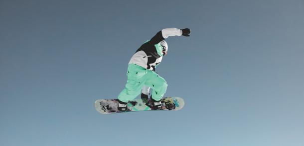 Snowboarding Stubaital