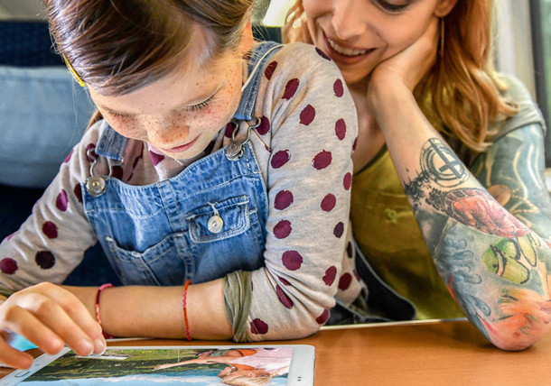 Als Familie entspannt mit der Deutschen Bahn in den Urlaub