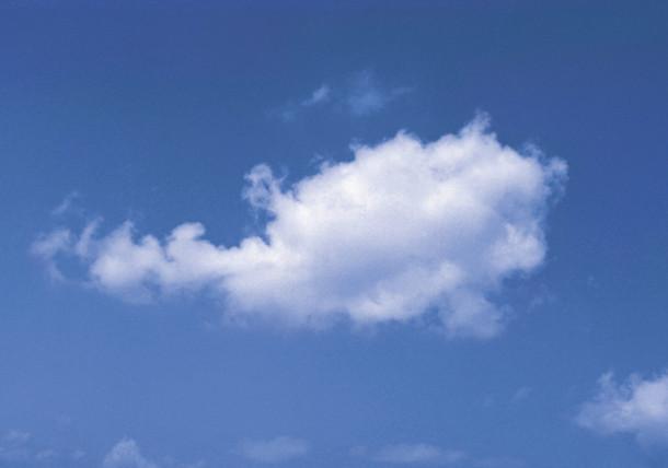 Cloud in the shape of Austria