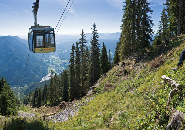 Cable car to the Rax