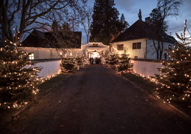 Schloß Lackenbach Adventzeit