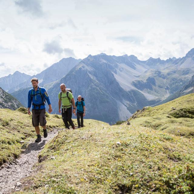 Adlerweg, Lechtaler Alpen Etappe 20 ©Tirol Werbung, Gigler Dominik
