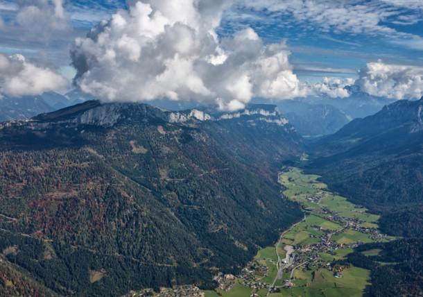 near Koessen /. Mountain:Steinplatte  / Tyrol