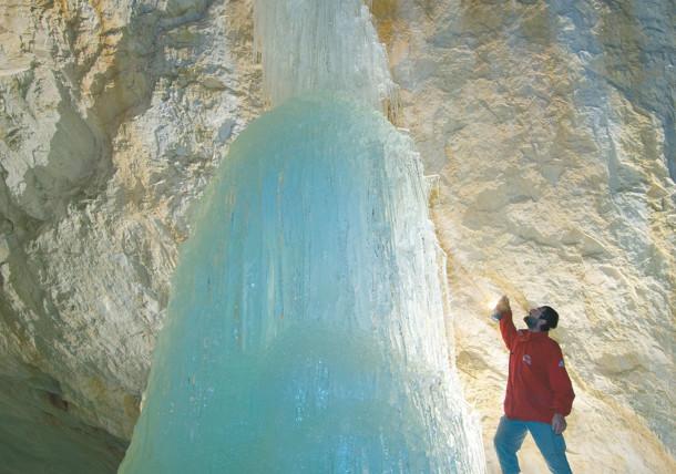 ICE WORLD  near Werfen  Ice Cave Eisriesenwelt  Salzburg Province