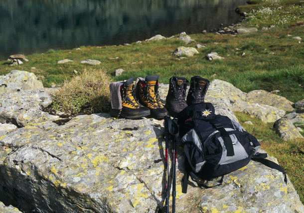 Boots for hiking